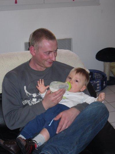 mon homme et sa fille !!!!!