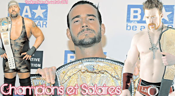 Les champions et les salaires