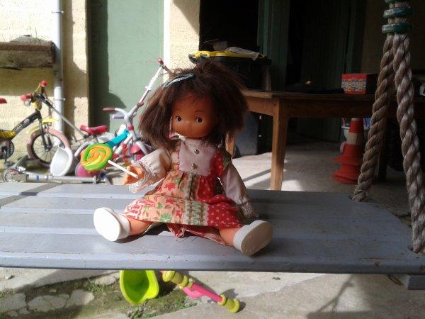 presentation de ma 2eme poupée