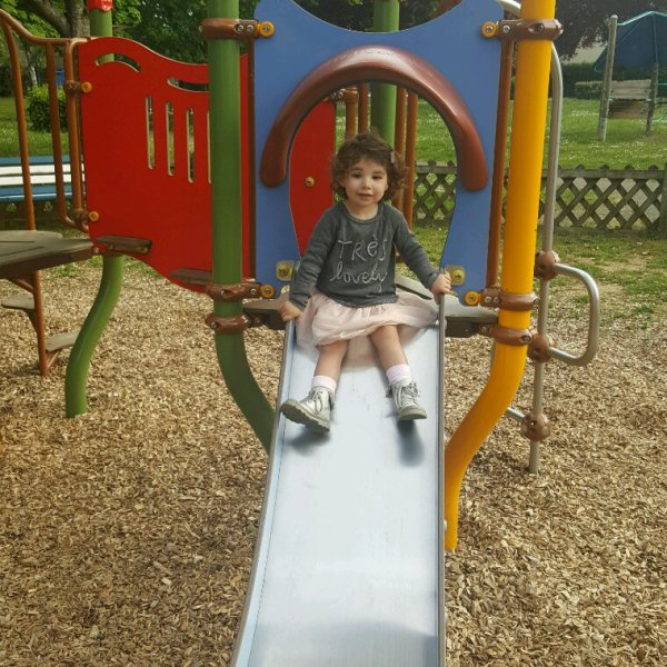 Visite de l école et ballade au parc
