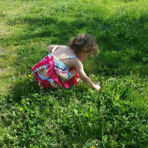 Apprentie jardinière