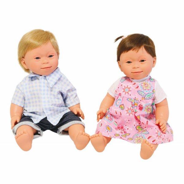 Coup de c½ur : la différence s'invite chez nos poupées .Différent ? Mais on est tous différents