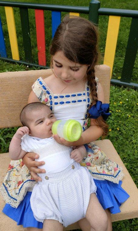 Bébé Nino a deux mois