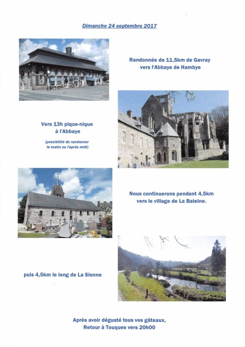 WEEK-END 23 & 24 SEPTEMBRE 2017