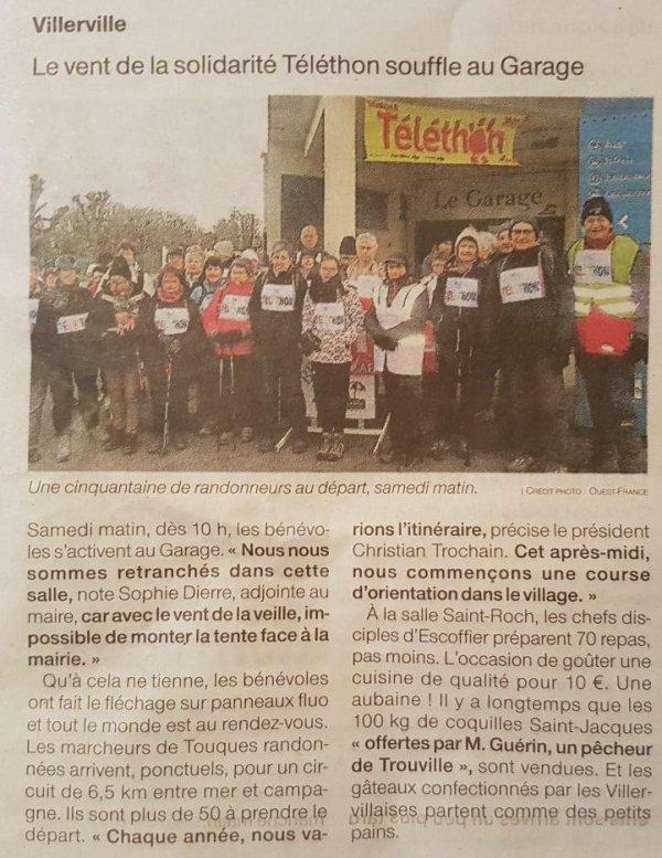 Ouest France du 10/12/2017