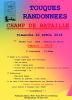 CHAMP DE BATAILLE - 22 AVRIL 2018