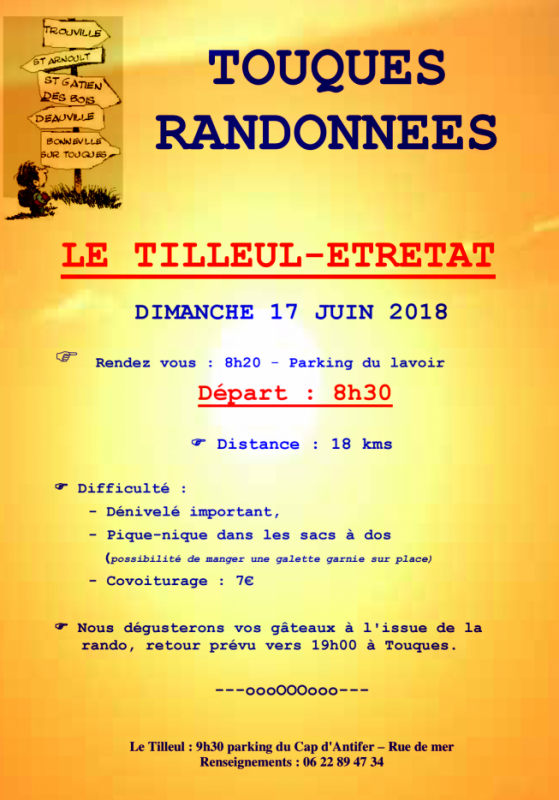 LE TILLEUL / ETRETAT - 17 JUIN 2018
