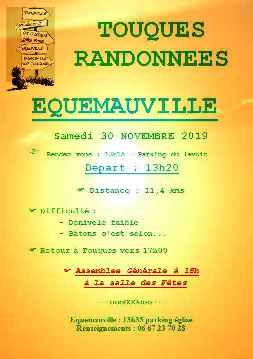 EQUEMAUVILLE - 30 NOVEMBRE 2019