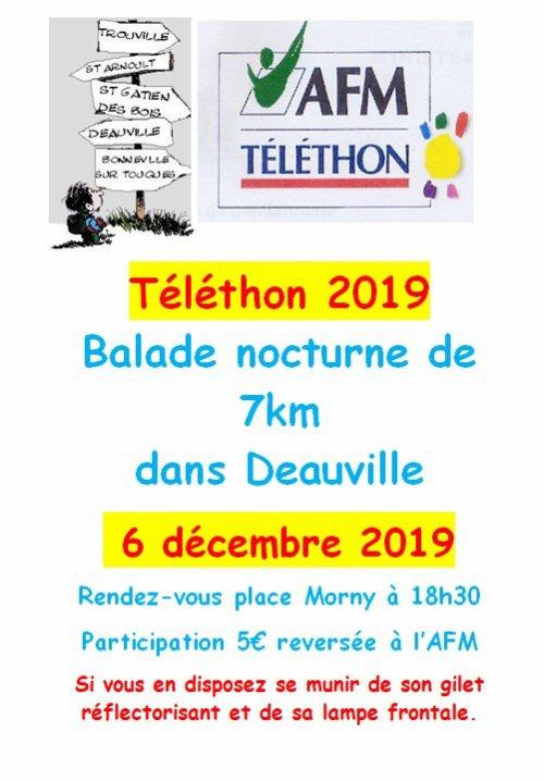 TELETHON 2019 - 6/12/2019 - DEAUVILLE
