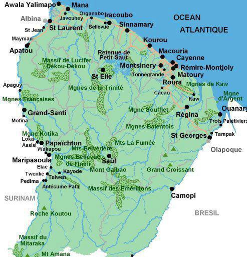 My Land , My Heart FRENCH GUYANA (South America)