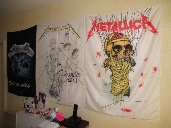 Metallica envahit le couloir!!!