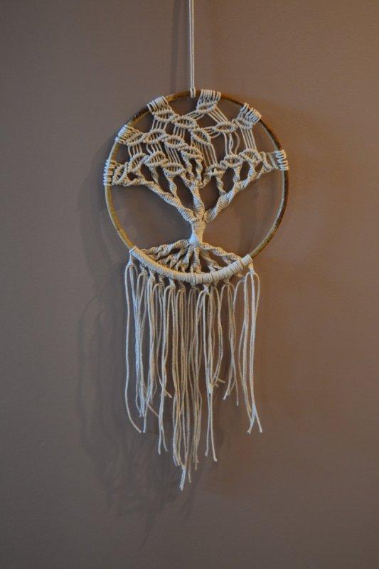 arbre de vie macramé