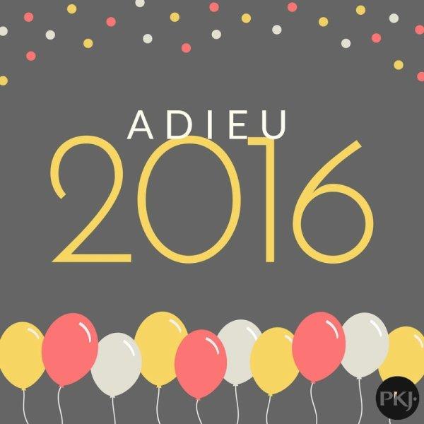 Tag - Adieu 2016
