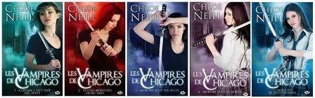 Les vampires de Chicago - Tome 1 à 10 - Chloe Neill