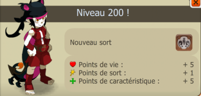 Up de mon osa level 200!