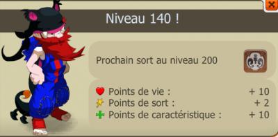 Mon sacri level 200, 8 persos level 200 enfin!