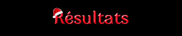 Résultats décembre 2016