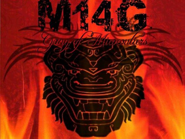 M14G / La jungle badness et Hakim Kadafy (2014)