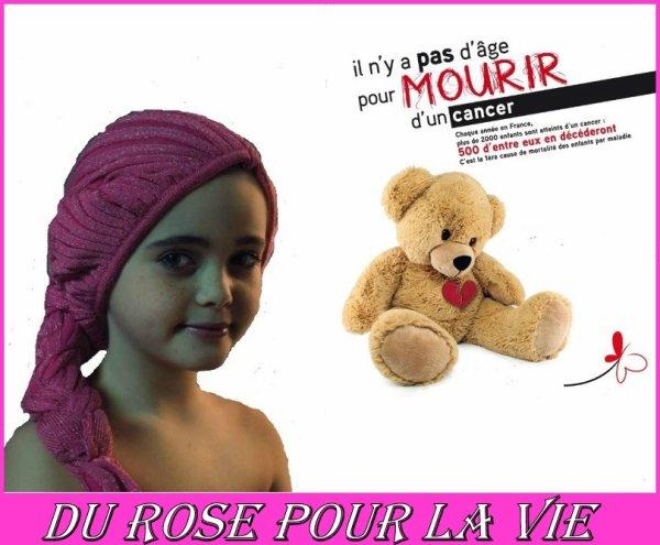 """"""" Foutu cancer ( un ruban rose pour la vie ) """""""