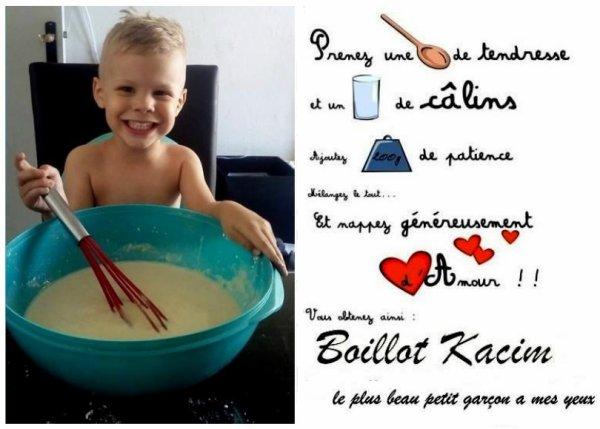 """"""" Trois bougies d'anniversaire pour mon petit fils d'amour """""""