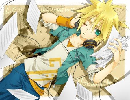 Personnage : Evergreen et Len