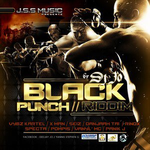 Dj BaD BoY The futur king  Selecta WBC Mixx ( Black Punch Riddim ReMiixx) (2012)