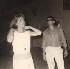 Montélimar...1964...avec Christian de la Mazière...
