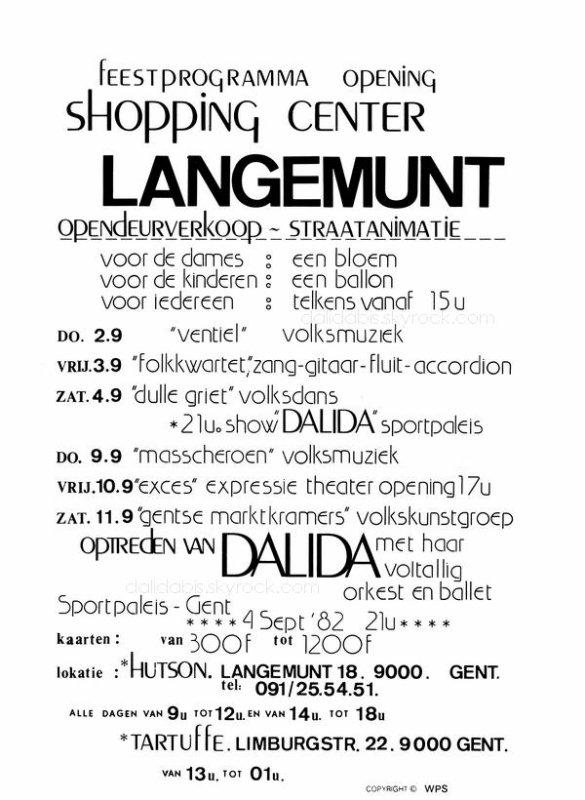 belgium...gent...1982 - belgique...gand...1982