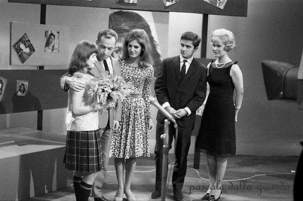 pascale dalla guarda raconte sa rencontre avec Dali...1964