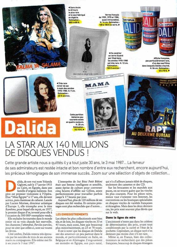 DALIDA : la star aux 140 millions de disques vendus -1-