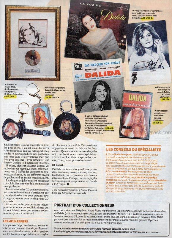 DALIDA : la star aux 140 millions de disques vendus -2-