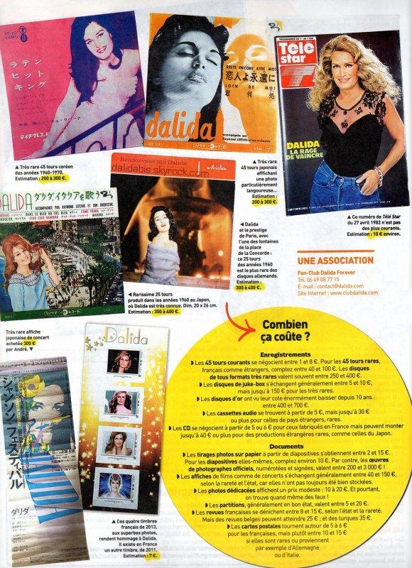 DALIDA : la star aux 140 millions de disques vendus -3-