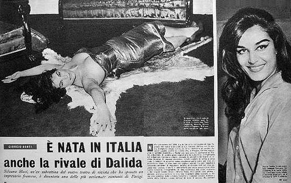 silvana blasi la rivale italienne de dalida à l'époque...