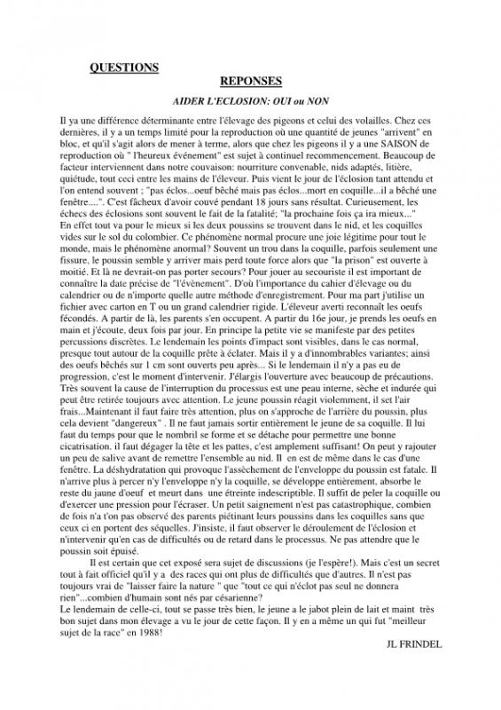 Huppe de Soultz bulletin n*3