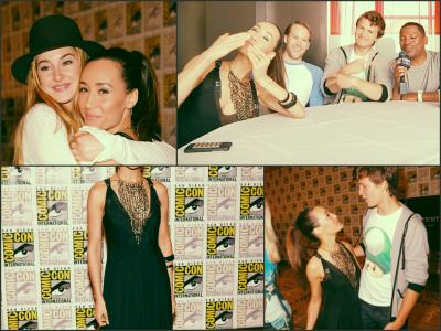 Comic-con 2013. Divergent.