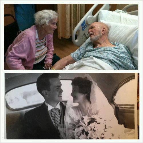 ♥♥ L'amour ♥♥  Reste vivent malgré l'age....♥♥♥♥♥