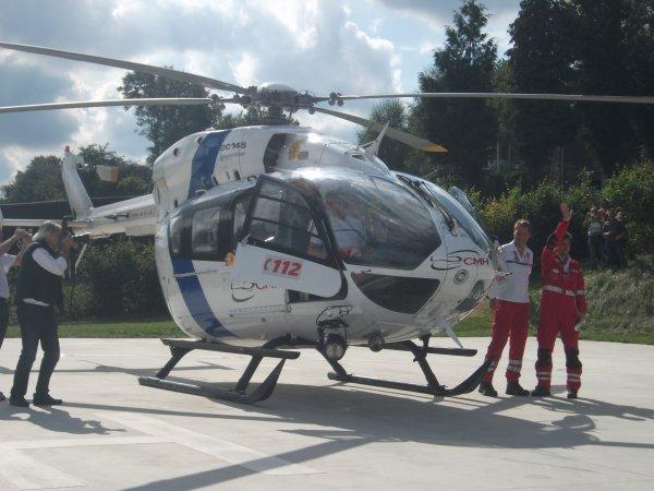 journée au Centre Médical Héliporté ou CMH est un service médical d'urgence et de réanimation par hélicoptère 4 urgences aujourd'hui