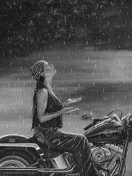 pas terrible le temps aujourd'hui pour faire de la moto