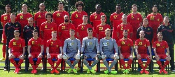 la Belgique ce soir........Fière d'être supporter !