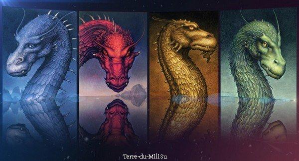 Eragon, les livres