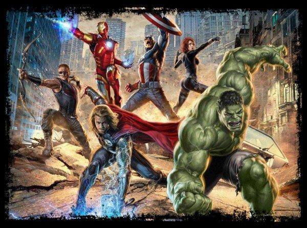 Compil Supers Héros Marvel & DC Comics (2)