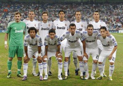 Equipe du Real madrid