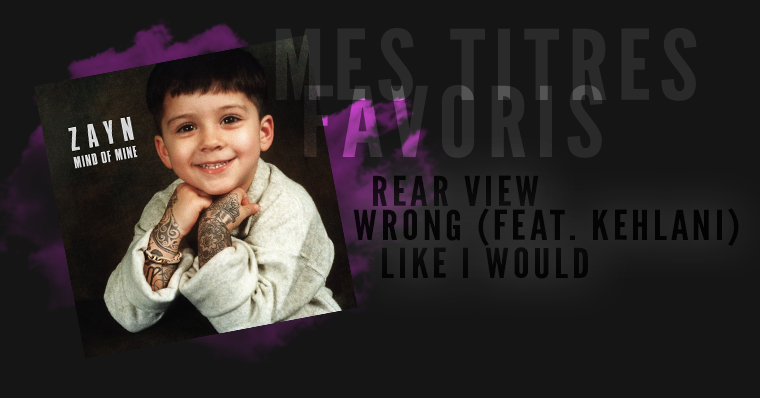 MIND OF MINE - Zayn .