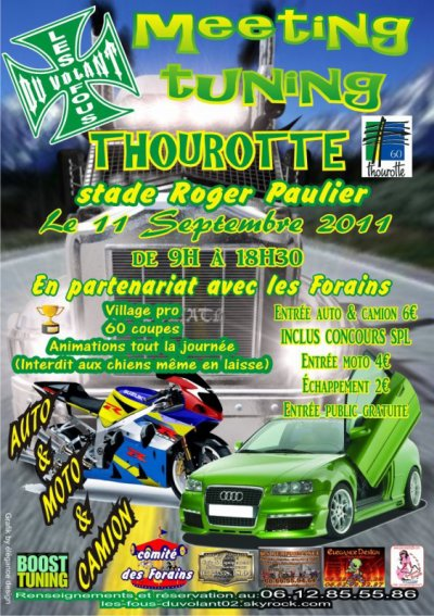 MEETING DE THOUROTTE 11SEPTEMBRE 2011
