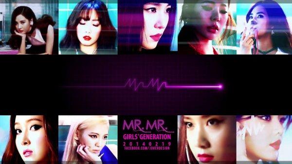 """Réaction des netizens Coréens pour """"MR.MR."""" des SNSD (Girls' Generation)"""