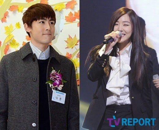 """Réactions des netizens : """"JYP confirme la relation entre Tiffany (SNSD) et Nichkhun (2PM)"""""""