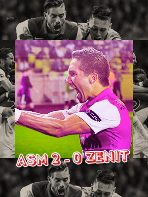 6e Journée ( LDC ) ASM 2 - 0 Zenit