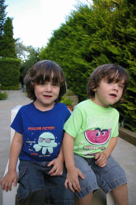 mes petits frères,ils sont pas trop choux!!!!