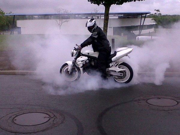 la moto du frangin
