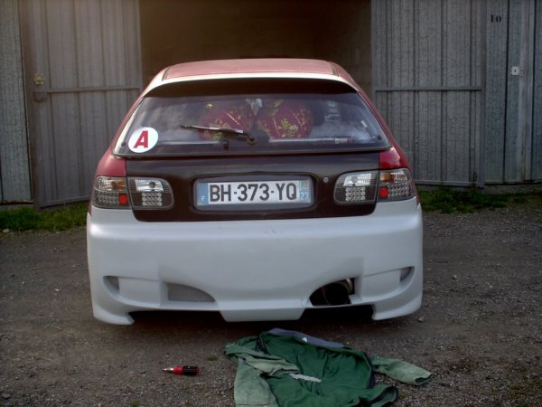 suite du honda civic